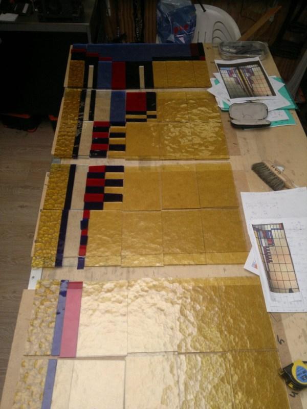 Maken nieuwe ruiten op basis ontwerp