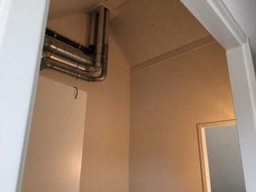 Ventilatiekanaal en rookgas afvoer