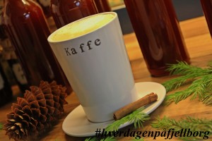 Granskuddsirup smak kaffe latte