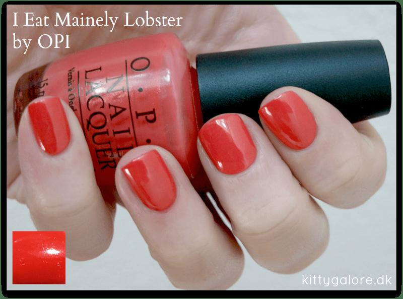 I eat mainely lobster OPI