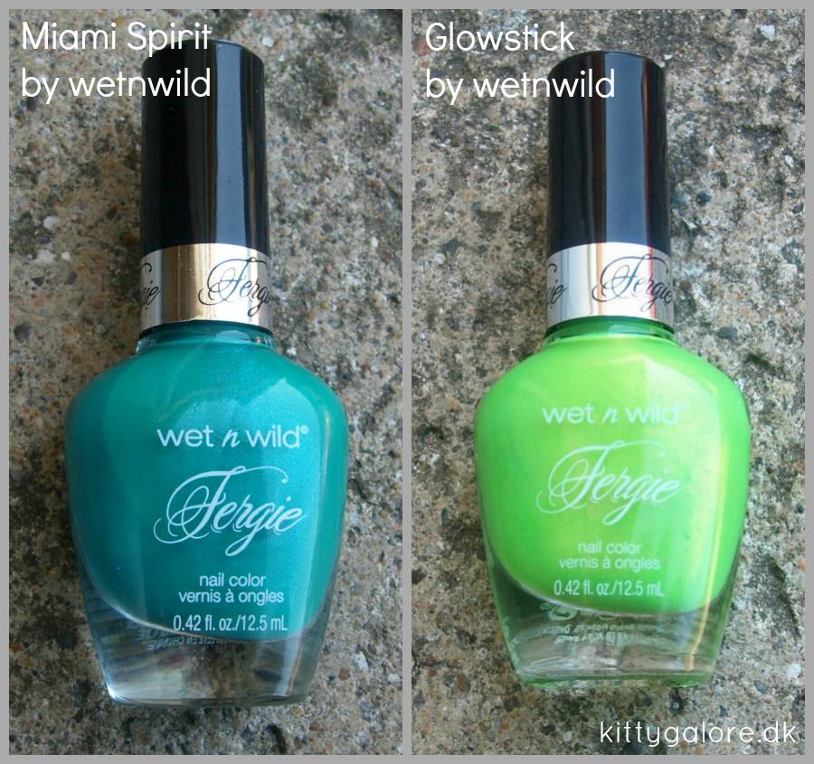 grønne lakker neglelak fergie nail polish wet n wild