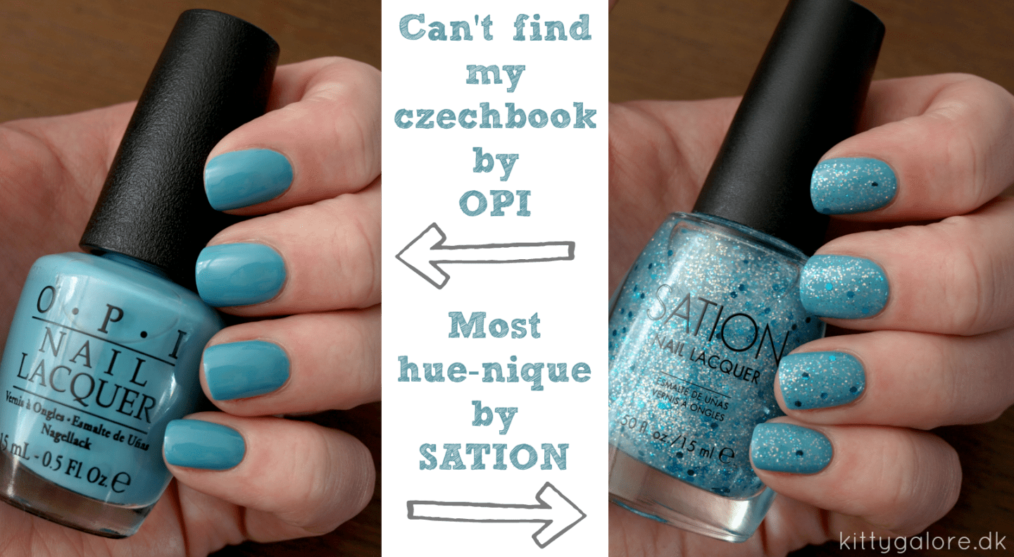 Can't find my czechbook opi Most hue-nique Sation neglelak hverdaghverdag.dk nail polish