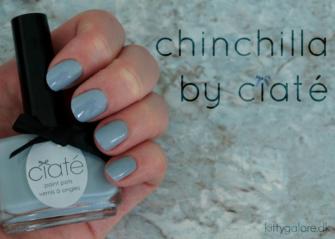 chinchilla neglelak fra ciaté