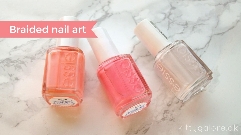 Braided nail art // Fælles Fredag