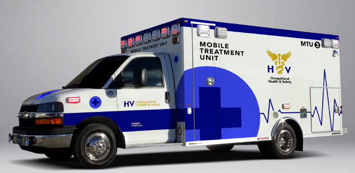 Mobile medical Unit by HV Health and Safety