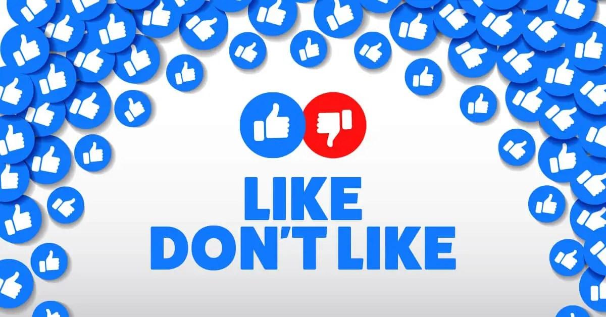 Like don't like