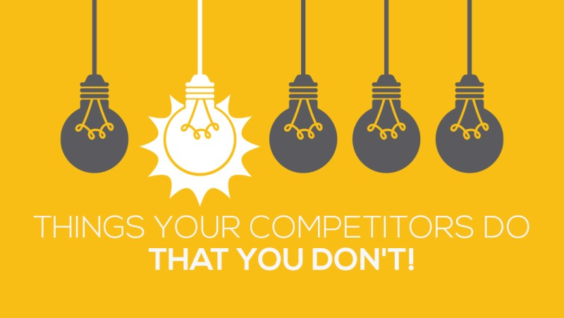 Get better than your competitors