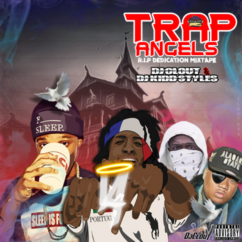 Trap Angels Mixtape By LA Capone Young Pappy Doe B