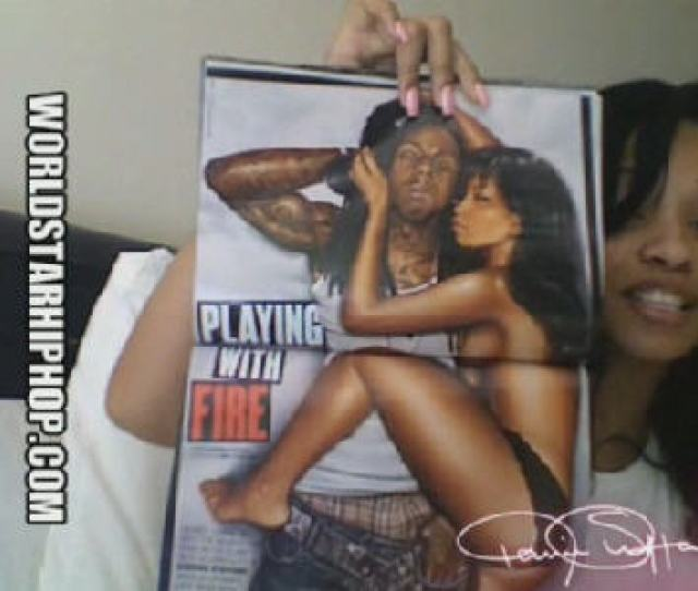 Uploaded September   Karrine Supahead Steffens Responds To Lil Waynes Verse About Her You Kiss Your Girlfriend With