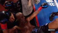 Bernard Hopkins Loses His Final Fight Of His Career After Being Knocked Out Of The Ring!