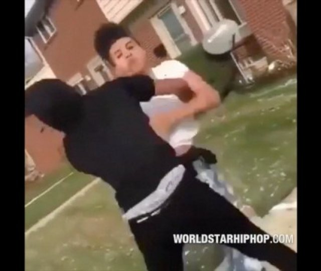 Damn Young M A Look Alike Gets Beat Up In The Hood