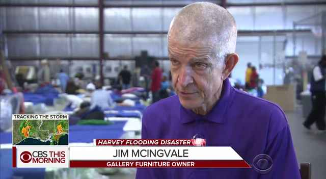 True Hero Houston Furniture Owner Mattress Mack Opens His Doors To Flood Victims