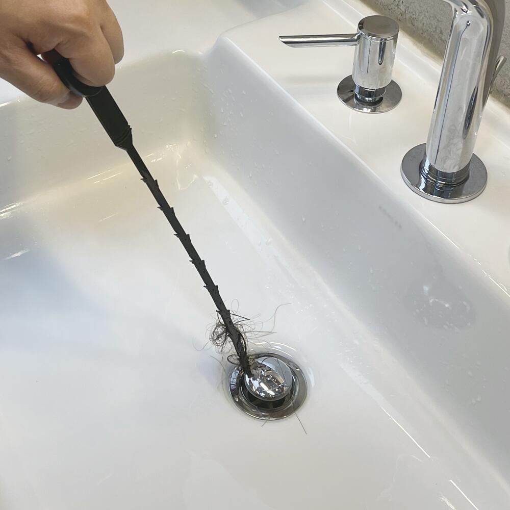 plumb works drain snake 2 pack at