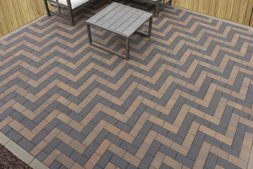 holland herringbone patio material list