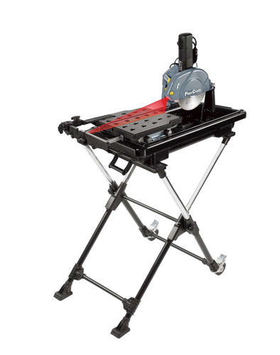 florcraft 7 tile saw with stand 4
