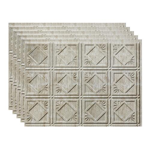 24 vinyl backsplash tile