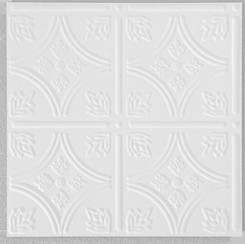white tongue groove ceiling tile