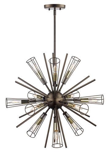 sulien bronze 12 light pendant light at