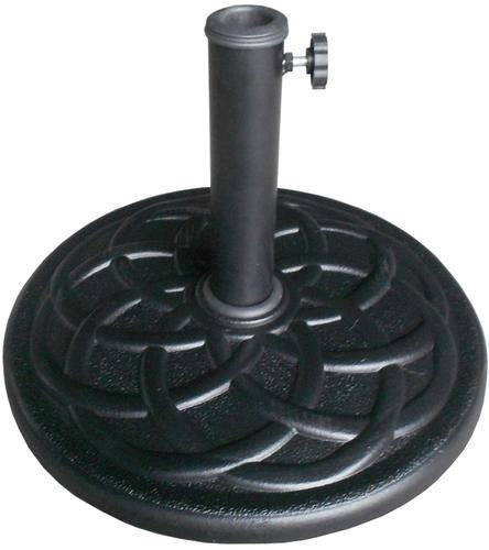 black resin 23 lb patio umbrella base