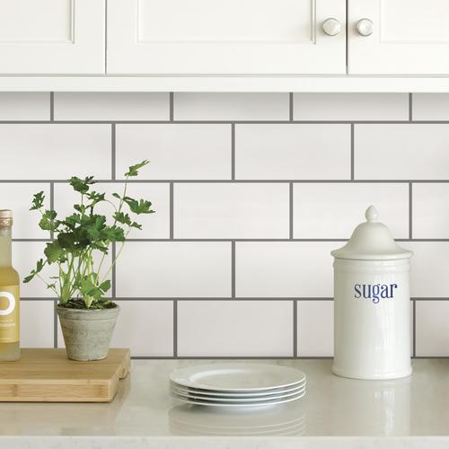 inhome peel stick backsplash tiles