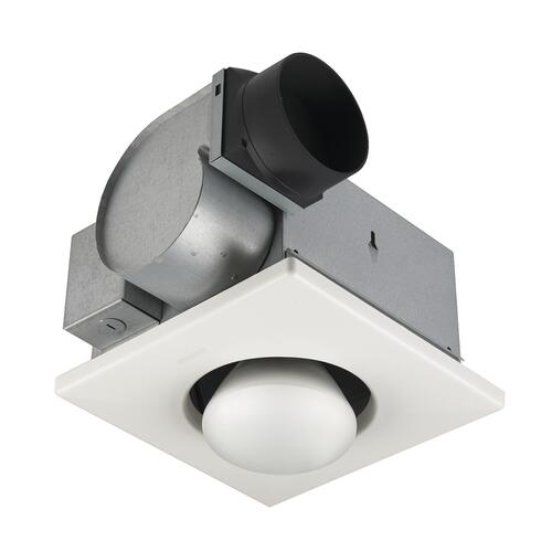 Broan 70 Cfm Ceiling Exhaust Bath Fan And Heater At Menards