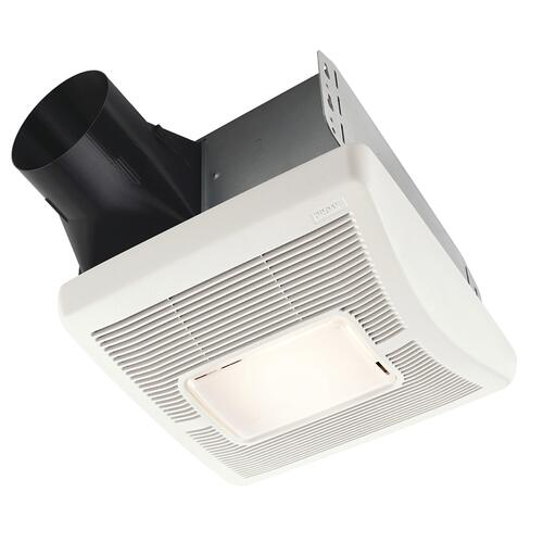 Broan Invent 80 Cfm Ceiling Exhaust Bath Fan With Light At Menards
