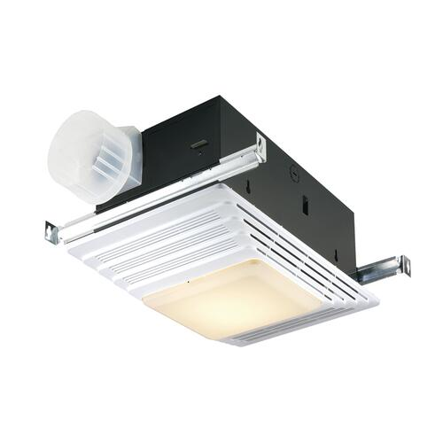 Broan 100 Cfm Ceiling Exhaust Bath Fan With Light At Menards