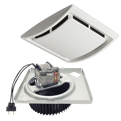 Broan 60 Cfm Quick Install Bathroom Exhaust Fan Motor And Grille