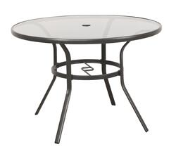 fenton round dining patio table at