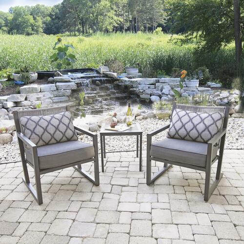 mallard bay gray 3 piece seating patio