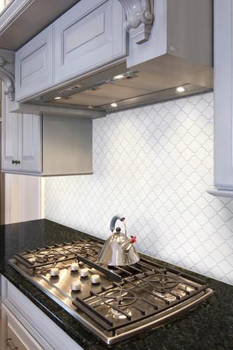 arabesque porcelain mosaic tile
