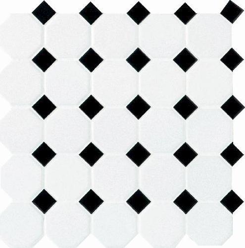 octagon ceramic mosaic tile at menards