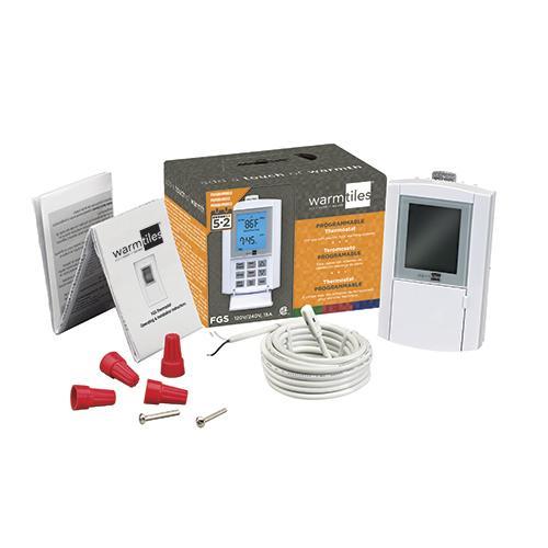 floor heat programmable thermostat