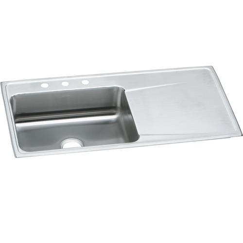 hole single bowl kitchen sink
