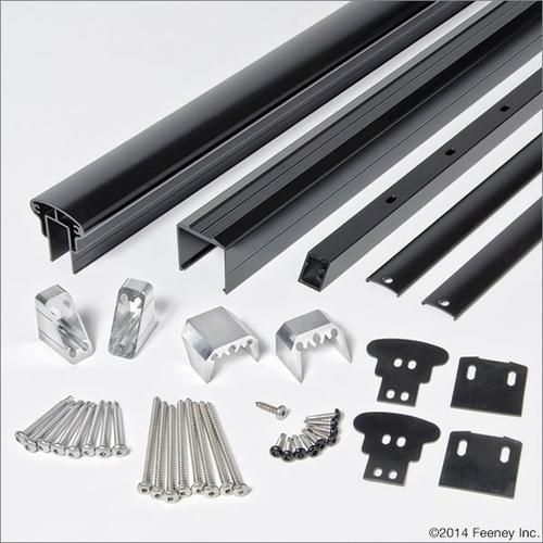 Feeney® Designrail® 6 Aluminum Rail Kit For Stair | Menards Interior Stair Railing