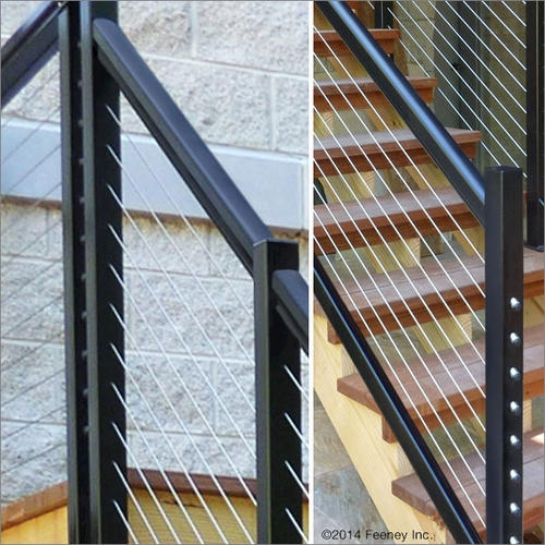 Feeney® Designrail® Quick Connect® End Post Kit For 36 Stair | Menards Outdoor Stair Railings | Composite | Front Porch Railing | Railing Systems | Patio | Deck Railing Kits