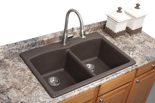 hole double bowl kitchen sink
