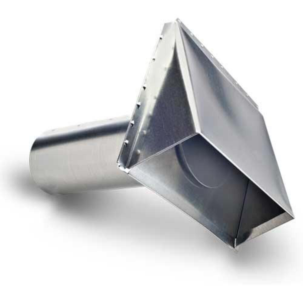 galvanized exhaust vent hood at menards