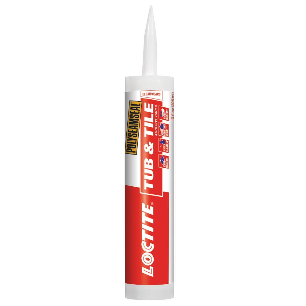 tub tile adhesive caulk at menards