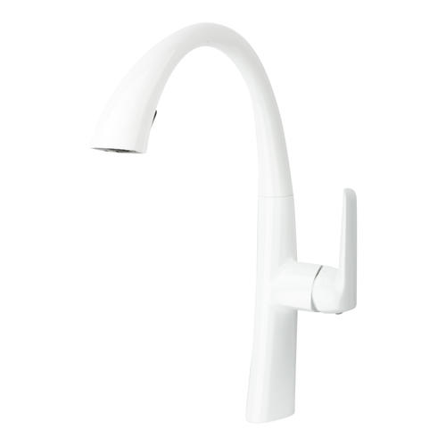 white kitchen faucet