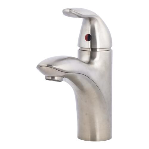 h2o grove one handle bathroom faucet at