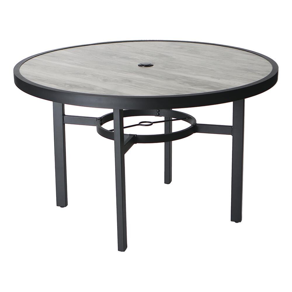 denali round dining patio table at