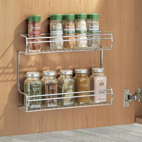 16 wide wall mount spice rack