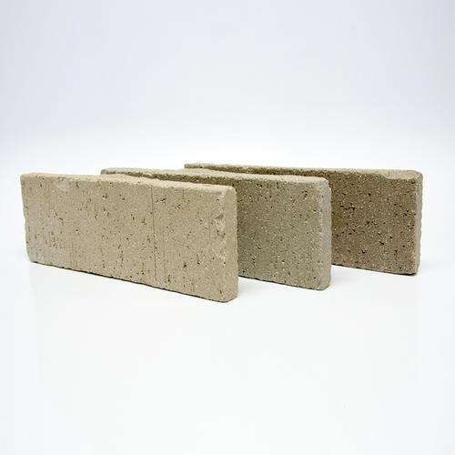 tumbled thin brick veneer floor