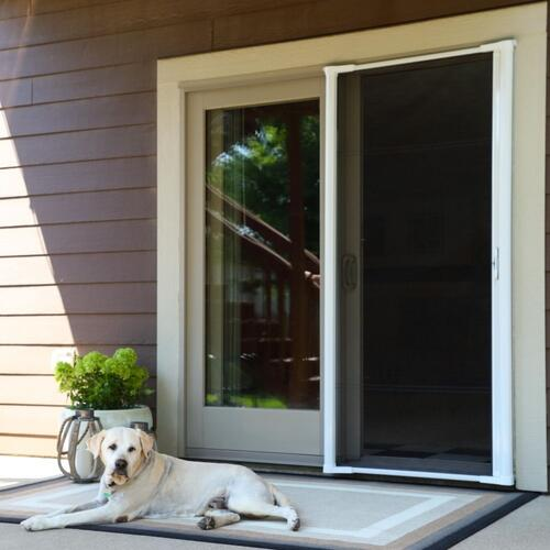brisa retractable screen patio door at