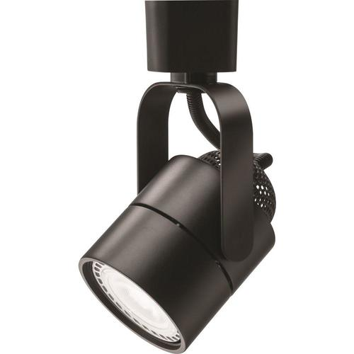 light black led track lighting head