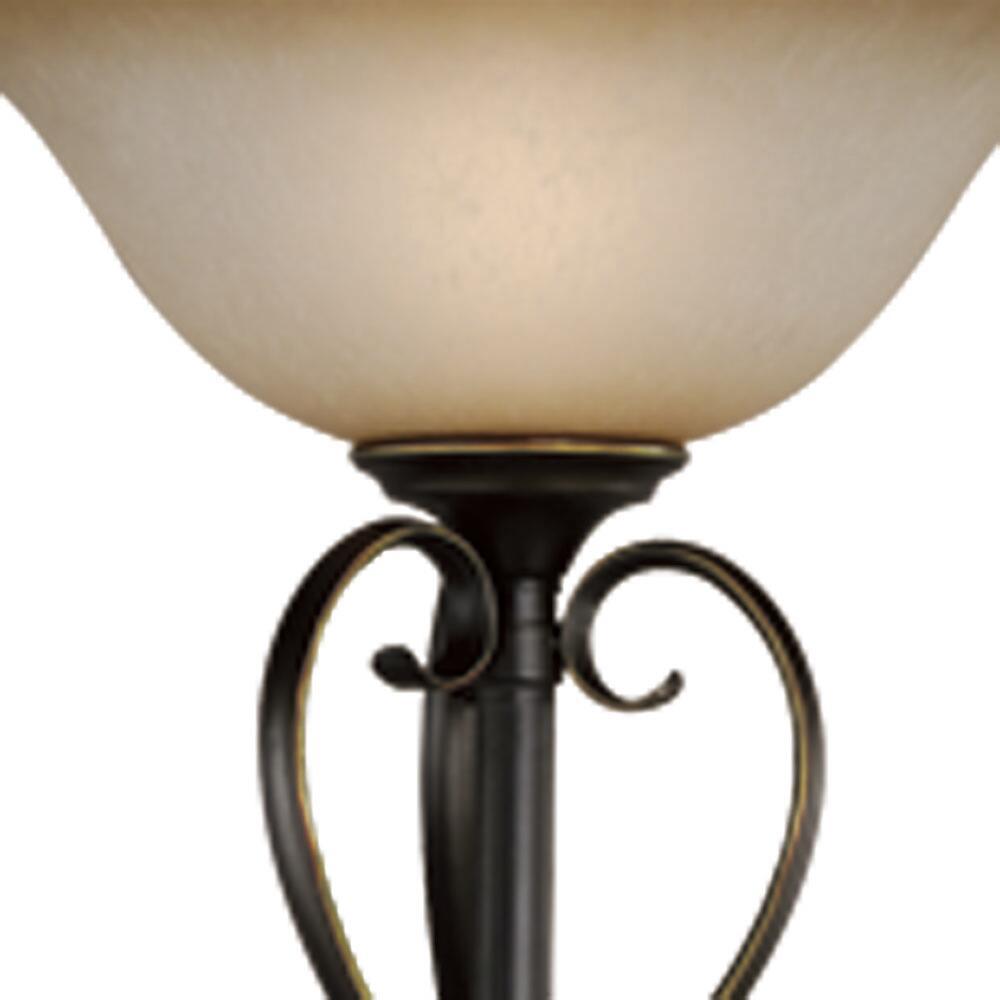 mavis oil brushed bronze floor lamp at