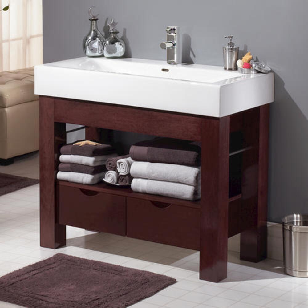 d mahogany bathroom vanity cabinet