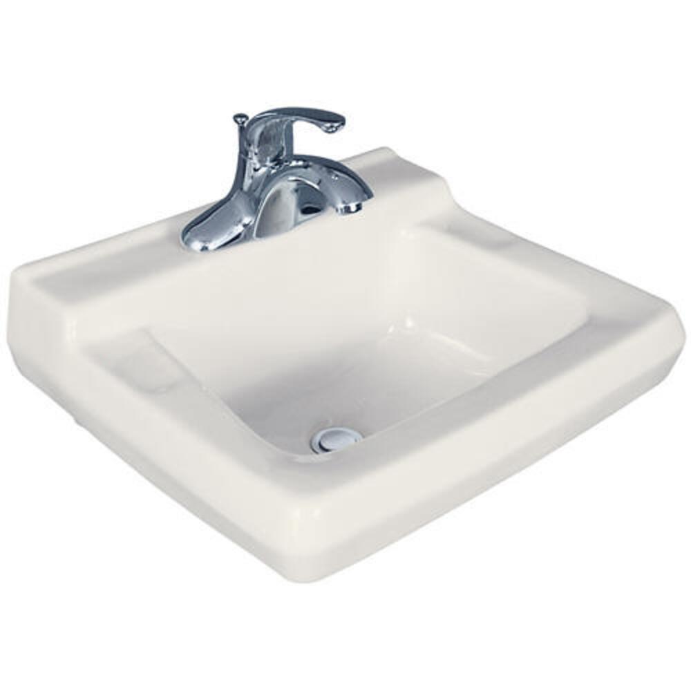 rectangle wall mount bathroom sink