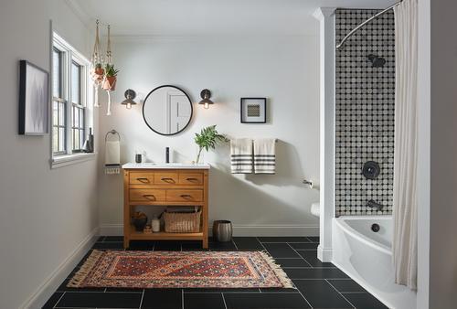 moen arlys one handle bathroom